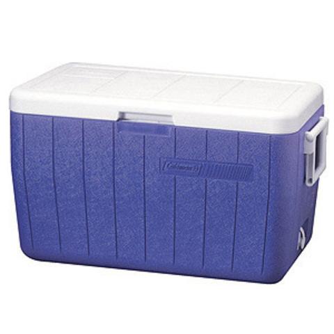 Изотермический контейнер (термобокс) Coleman 48 QT Poly-Lite (45 л.), синий