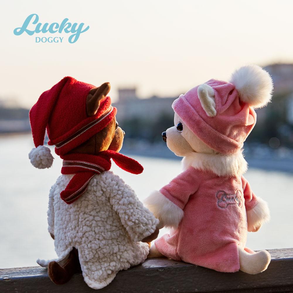 Собачка LUCKY KIKI Зимняя сказка (Orange Toys)