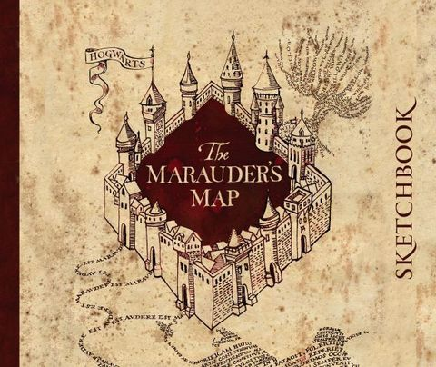 Скетчбук. Гарри Поттер. Карта мародеров