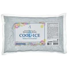 Альгинатная маска с охлаждающим и успокаивающим эффектом Anskin Cool-Ice Modeling Mask / Refill (пакет), 240г
