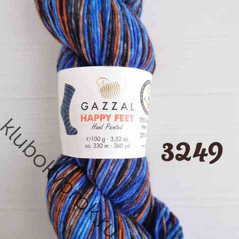 GAZZAL HAPPY FEET 3249, Синий коричневый