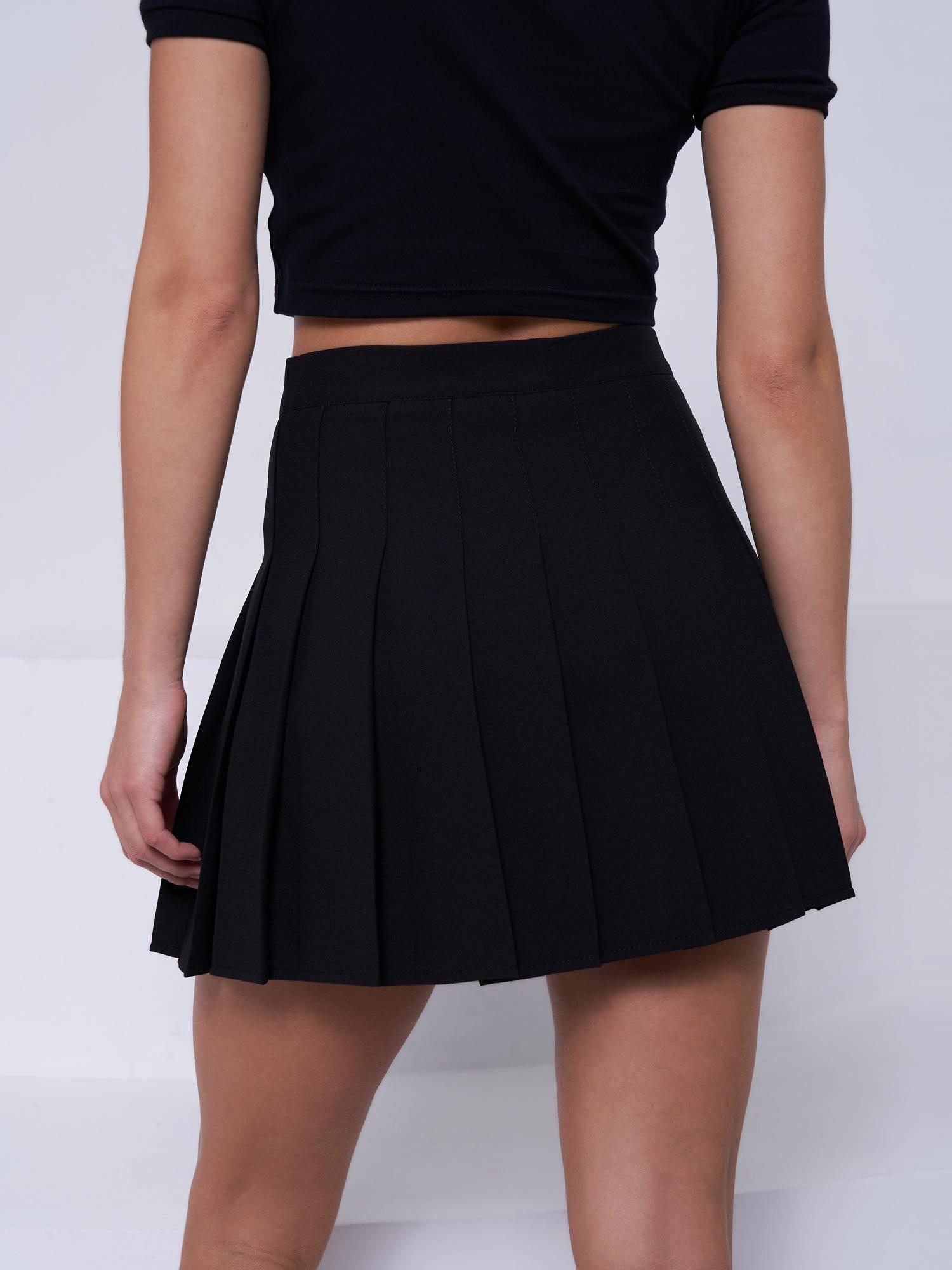 Юбка Feelz Skirt back 2school, Черный