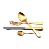 Набор матовый 24 пр ALCANTARA GOLD, артикул AL.006.GB, производитель - Cutipol