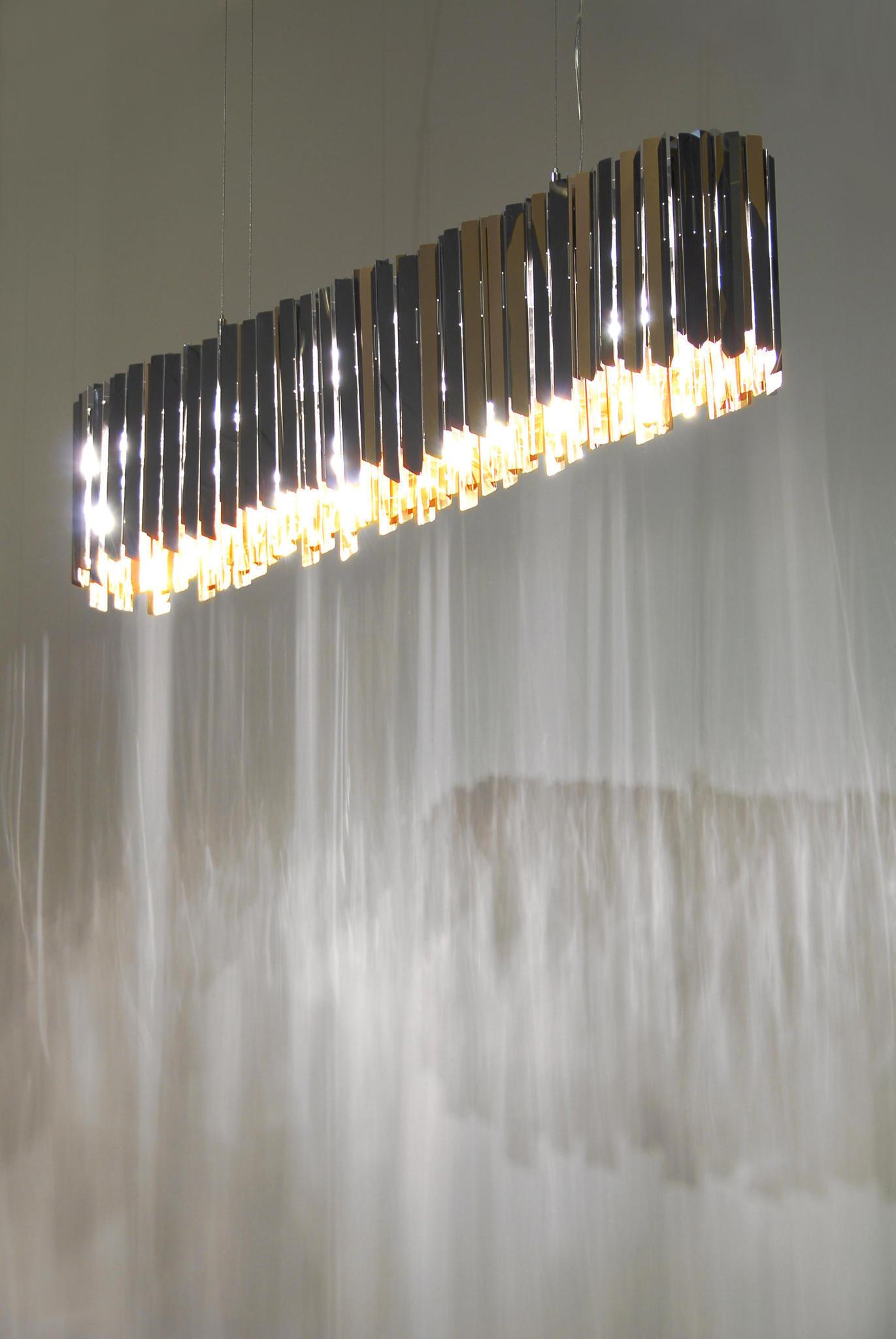 Подвесной светильник копия Tom Kirk Facet by Innermost D80 (серебряный)