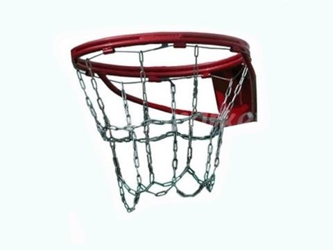 Сетка-цепь антивандальная облегчённая для баскетбольного кольца :1SC-GR