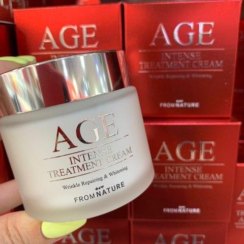 From Nature Омолаживающий крем с ферментами AGE Intense Treatment Cream (80ml)  