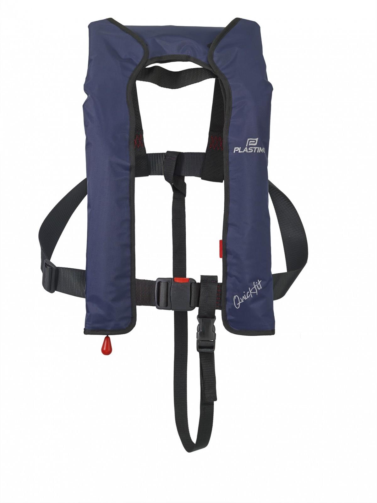 Quickfit inflatable lifejacket