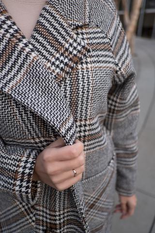 Короткое осеннее пальто женское купить