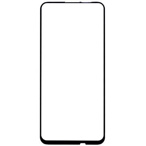 Защитное стекло 2,5D для Huawei Honor 9C, P40 Lite, P40 Lite E, Y7P с черной рамкой Full Glue