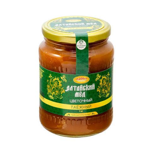Таёжный алтайский мёд 1000 г