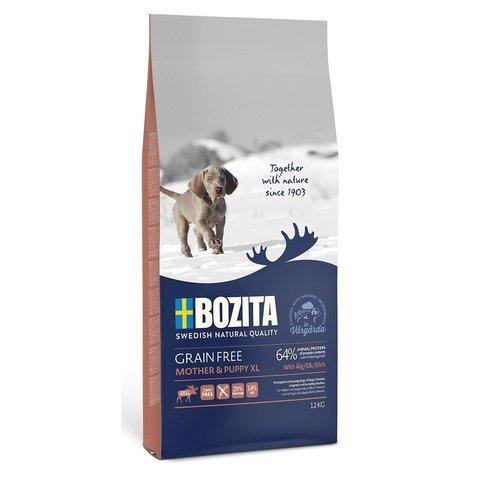 Bozita Grain Free Mother & Puppy XL Elk 29/14 Сухой корм для щенков и юниоров, беременных и кормящих сук крупных пород с мясом лося (беззерновой)