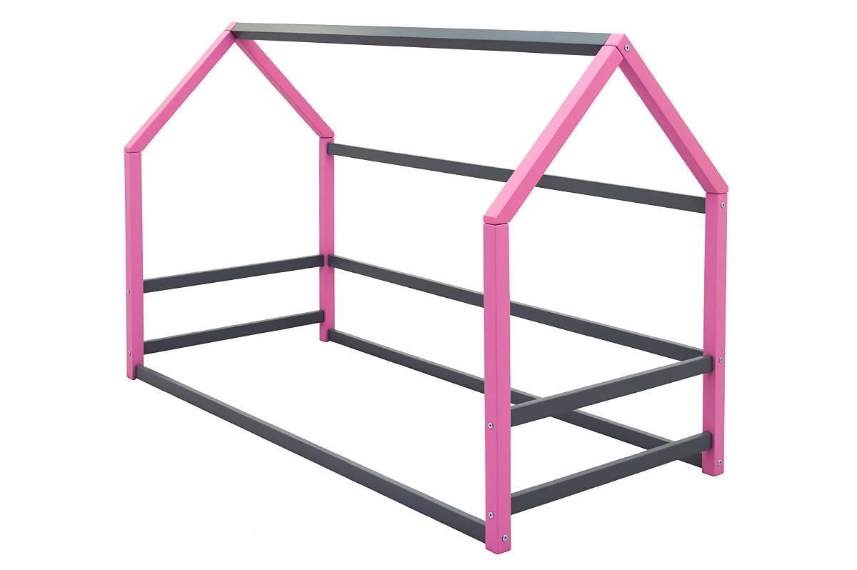 Кровать-домик Монтессори «Svogen» лаванда-графит