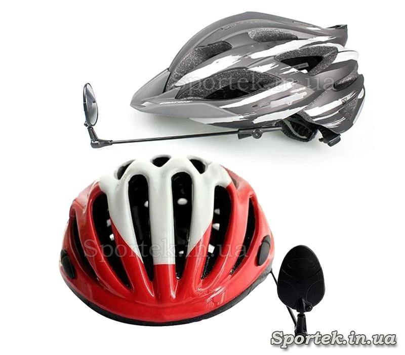 Кріплення дзеркала Pro Star JG-1038B на велосипедний шолом
