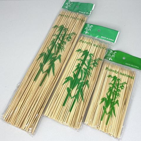 Палочки деревянные для шашлыка 30 см (100 шт.)