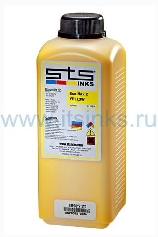 Эко-сольвентные чернила STS Eco-Max2 Yellow 1000 мл