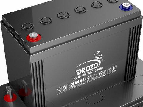 Аккумулятор гелевый DROZD 120 А/ч