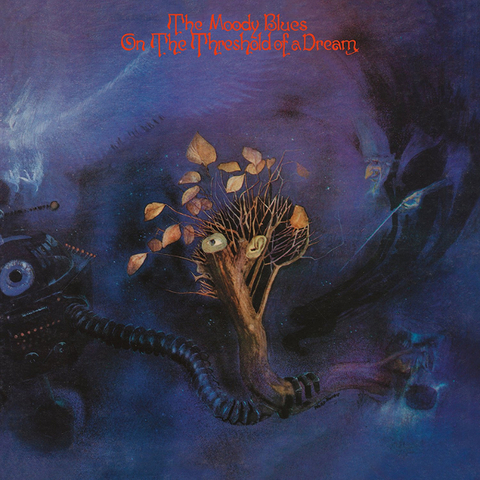 The Moody Blues / On The Threshold Of A Dream (LP)