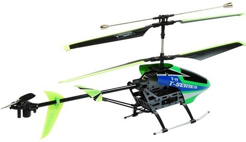 Радиоуправляемый вертолет MJX R/C i-Heli Shuttle Green T11/T611 - T11