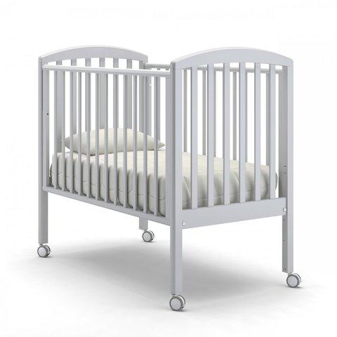 Кровать детская Дени без ящика белая ночь