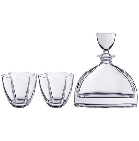 Набор для виски Нэмо, штоф + 2 стакана 550/350 мл