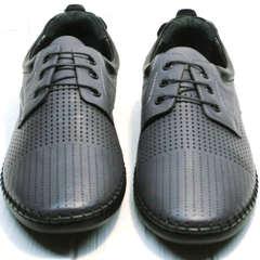 Спортивные туфли мокасины мужские лето Ridge Z-430 75-80Gray.