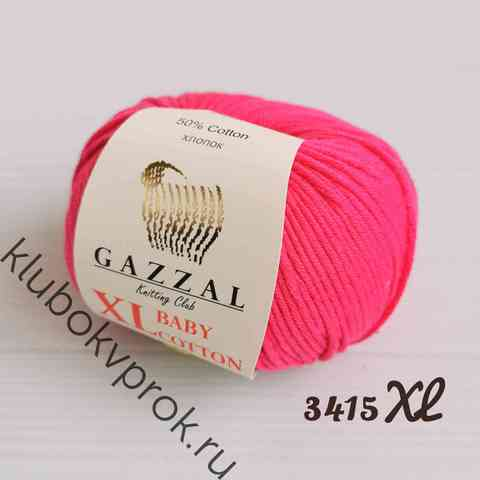 GAZZAL BABY COTTON XL 3415XL, Малиновый