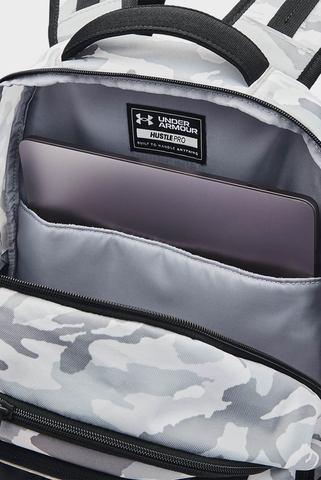 Серый рюкзак UA Hustle Pro Backpack Under Armour