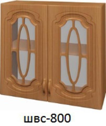 Шкаф верхний стекло ШВС 800