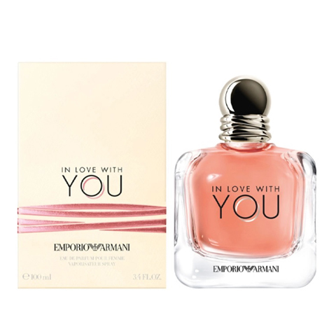 Giorgio Armani: In Love With You женская парфюмерная вода edp, 30мл/50мл/100мл