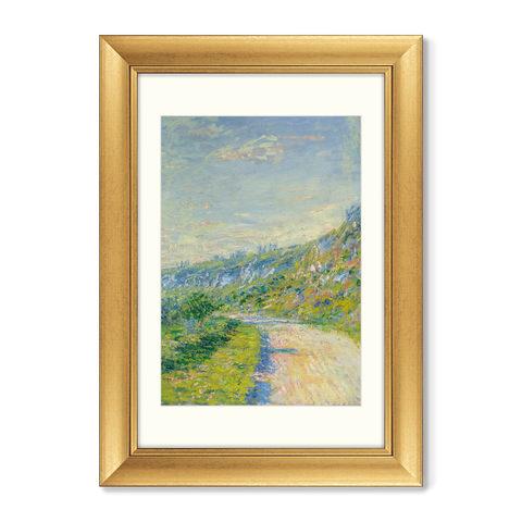 Клод Моне - Диптих La route de Vétheuil, 1890г. (из 2-х картин)