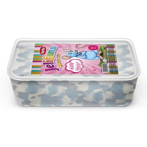 JELIFANS желейные конфеты мышь 1кор*8бл*1шт 900гр