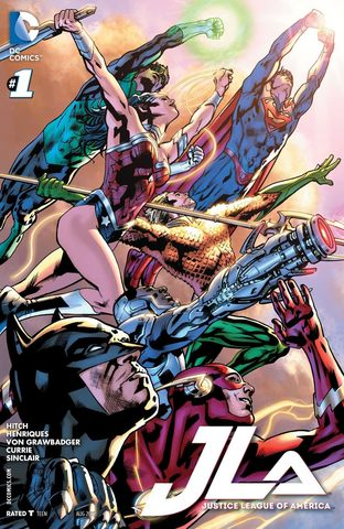 JLA: Justice League of America #1
