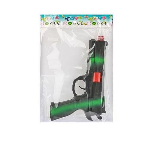 Оружие детское - Пистолет- трещетка Хаки в пак.,1кор*1бл*6шт