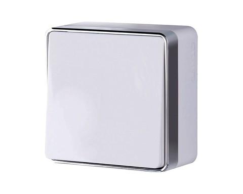 Выключатель Werkel WL15-01-01 белый (1-кл)