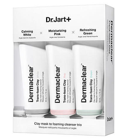 Dr.Jart+ Clay Mask to Foaming Cleanser Trio