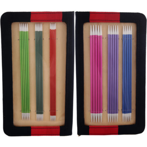 KnitPro Набор чулочных спиц Zing длиной 20 см 47402