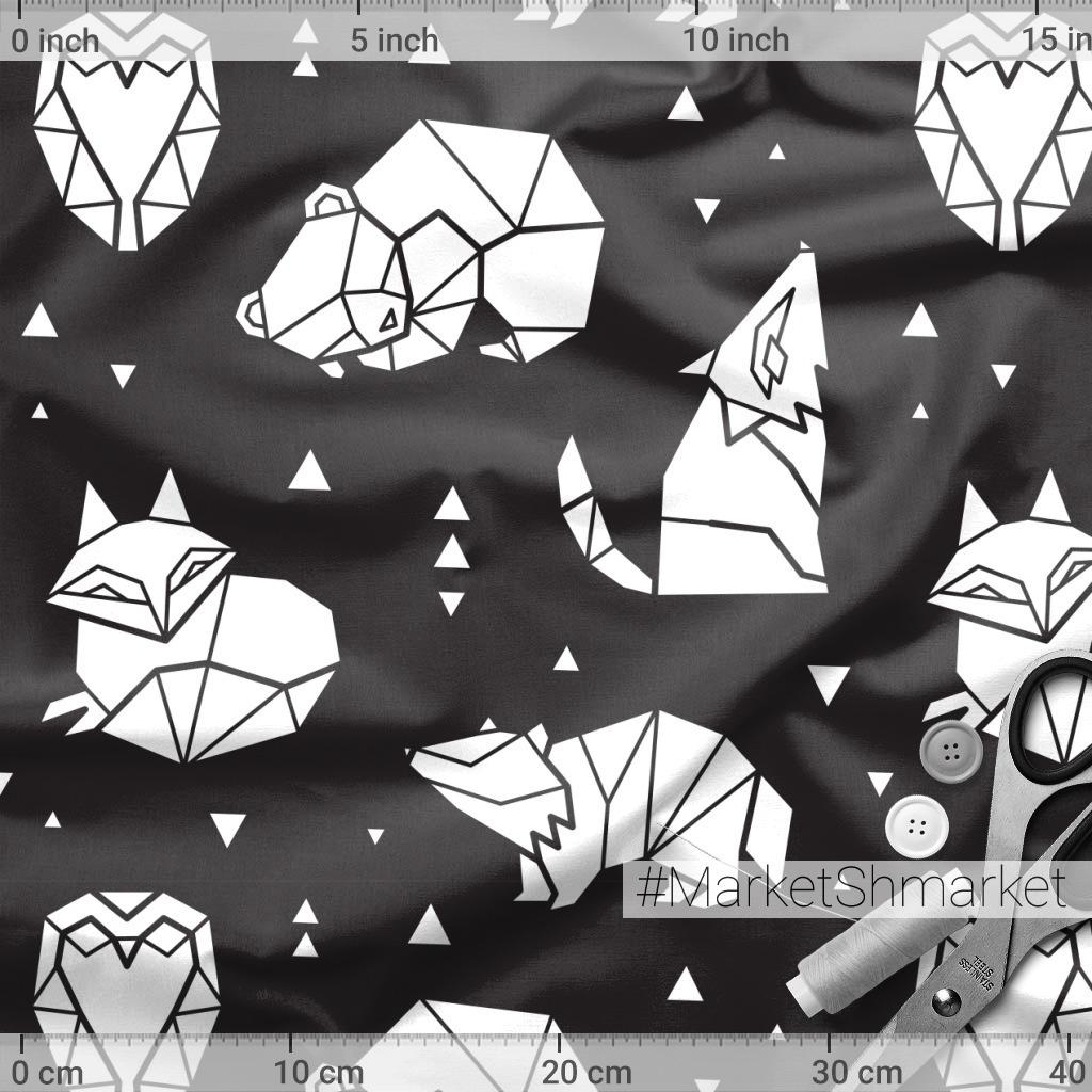 Лесное оригами