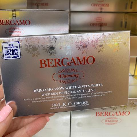BERGAMO SNOW WHITE & VITA-WHITE AMPOULE SET 4шт.