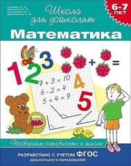 Математика. 6-7 лет. Проверяем готовность к школе.
