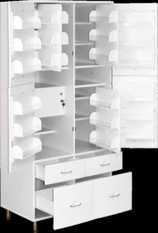 Шкаф медицинский для фармпрепаратов ШМФ-01  (мод.5) - фото