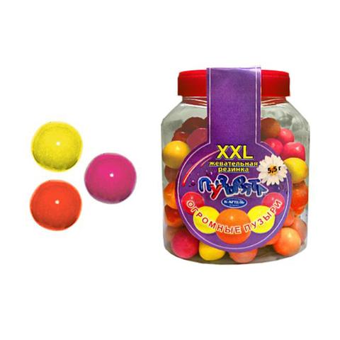 10x100 «Пузырята». Резинка жевательная дражированная