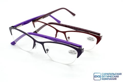 Очки готовые для зрения FABIA MONTI металл FM1060