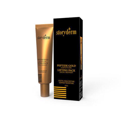 Маска-гель для сужения пор с эффектом лифтинга Peptide Gold Lifting Pack