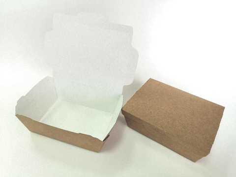 Коробка крафт без крышки. Размер 150х115х50мм.