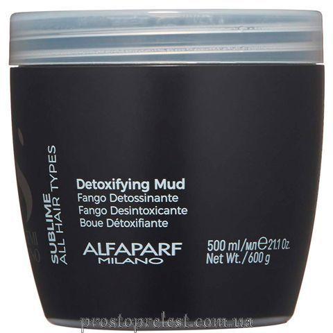 Alfaparf Semi Di Lino Sublime Detoxifying Mud –Глина детокс для шкіри голови