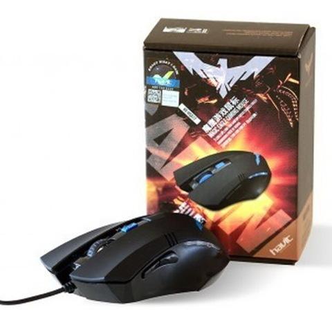 Мышь проводная HAVIT HV-MS672 Gaming USB, black