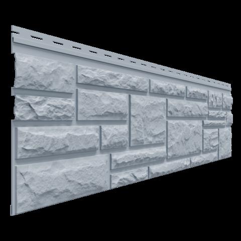 Фасадные панели (Цокольный Сайдинг) Доломит Rockvin Серо-голубой