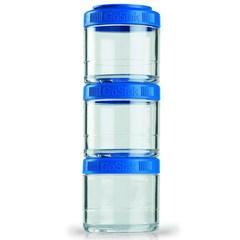 Контейнеры Blender Bottle GoStak 3 x 100мл Cyan (бирюзовый)