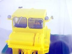 Tractor K-700 Kirovets yellow 1:43 Hachette #7