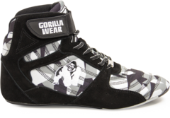 Женские кроссовки Gorilla wear Perry High Tops BLACK/GRAY CAMO